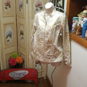 Chicos shimmer jacket